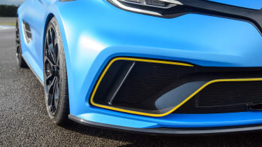 Renault Zoe E-Sport - front detail
