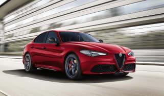 Alfa Giulia MY19 updates - front Ti