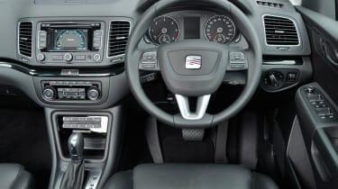 SEAT Alhambra 2.0 TDI Ecomotive interior