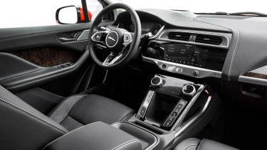 Jaguar I-Pace driving - interior