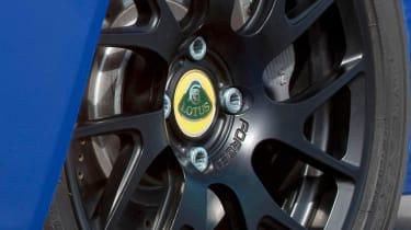 New Lotus Elise S Club Racer black alloy wheel
