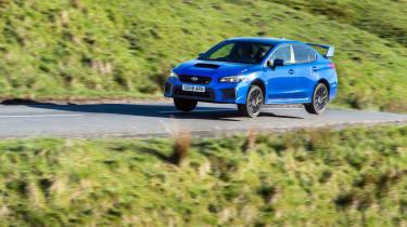 Subaru WRX STI Final Edition - jump