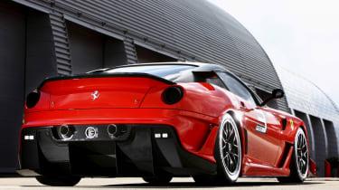 Ferrari 599 GTO supercar