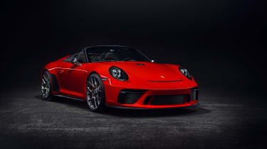 911 speedster production car