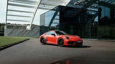 Porsche 911 GTS review (992) – front quarter