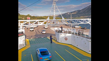 Bentley Continental GT V8 S - static ferry