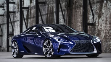 Lexus LF-LC revealed in Australia