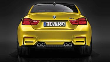 New BMW M4 rear diffuser spoiler