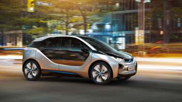 BMW i3 electric car news and pictures