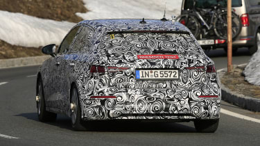 Audi A3 spy 2019 - rear