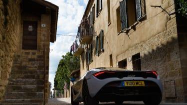 McLaren 720S in Italy - rear