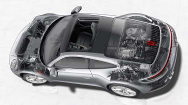 Porsche 911 992 cutawat