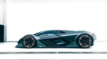 Lamborghini Terzo Millennio - profile