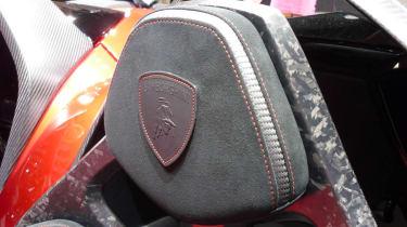 Lamborghini Aventador J headrest