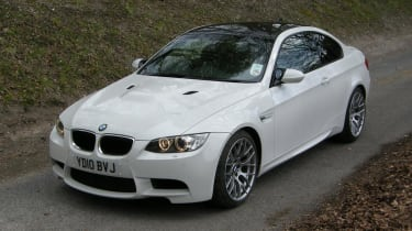 BMW M3 Competition high front static