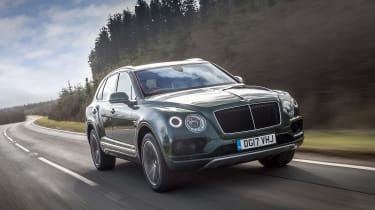 Bentley Bentayga Diesel - front tracking