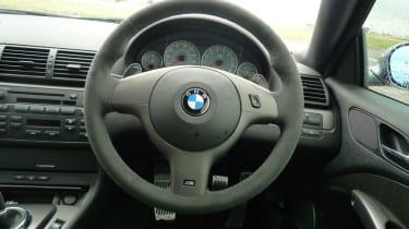 BMW M3 CSL interior
