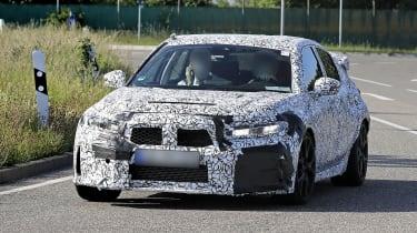 2022 Honda Civic Type R prototype – front testing