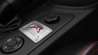 Peugeot RCZ R interior R badge