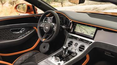 Bentley Continental GT Speed – interior