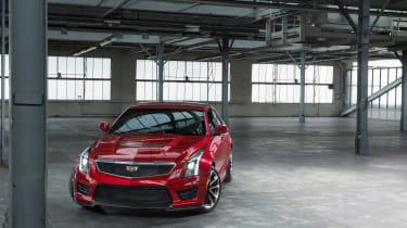 Cadillac ATS-V - front