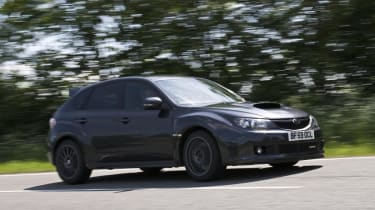 Subaru Impreza Cosworth CS400 pan corner