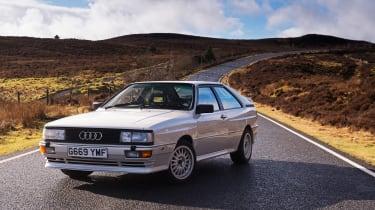 4x4 Wales test - Quattro 1