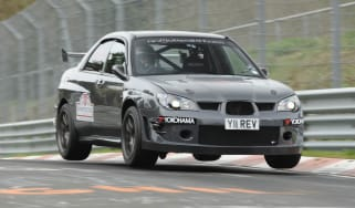 Revolution Subaru Impreza Project STI Nurburgring jump air