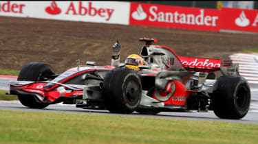 F1's greatest moments - hamiltons silverstone win