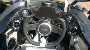 Tramontana R Edition cockpit
