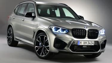 BMW X3 M front