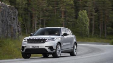 Range Rover Velar action
