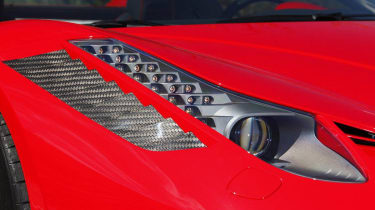 Ferrari 458 Spider Monaco Edition by Mansory headlight grille