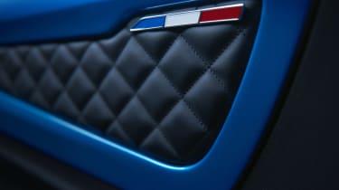 Alpine A110 - door panel