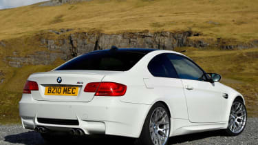 BMW M3 Competition rear static