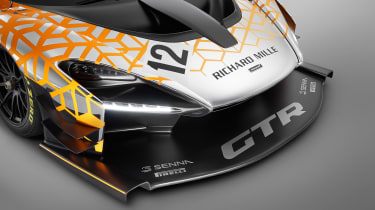 McLaren Senna GTR - headlighst