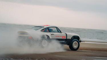 Singer Vehicle Design ACS - beach rear tracking