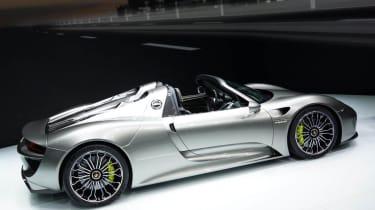 Frankfurt motor show 2013 Porsche 918 Spyder
