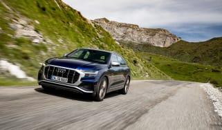 Audi SQ8 TDI review - front quarter