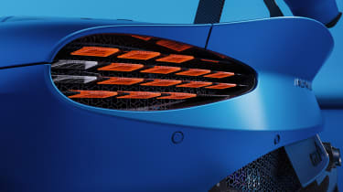 Alpine A110 GTA concept – rear light
