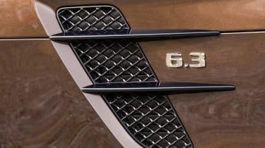Mercedes-Benz SLS AMG – side strakes/outlet