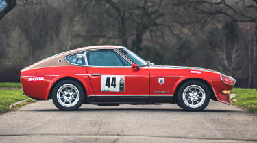 Silverstone Auctions - Dats 240Z side