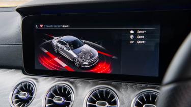 Mercedes-Benz CLS 400d screen