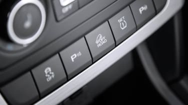 Skoda Yeti Outdoor off-road button