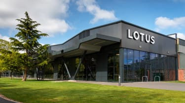 Lotus Emira production