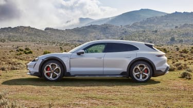Porsche Taycan Cross Turismo - 4S side