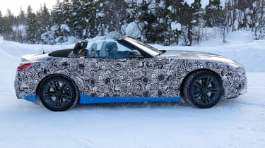 BMW Z4 mule - profile