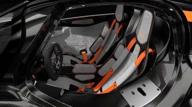 Aston Martin Valkyrie Q by AM - silver cabin