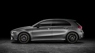 Mercedes-Benz A-class side studio