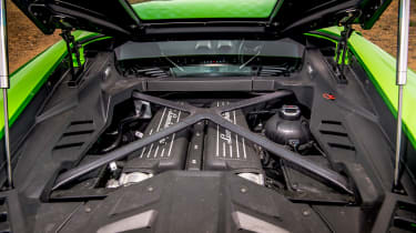 Lamborghini Aventador SVJ – cabin